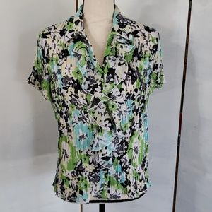TanJay ladies floral print blouse